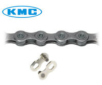KMC X10 CHAIN 10 SPEED 116L BICYCLE Blke chain  / Silver FOR SHIMANO SRAM