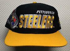 Pittsburgh Steelers Hat Vintage 1996 NFL Cap Sports Specialties Snapback