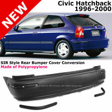 For Civic Hatchback 96-00 EK SIR JDM Rear Bumper Cover Conversion Side Molding