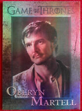 GAME OF THRONES - PRINCE OBERYN MARTELL - Season 4 - FOIL PARALLEL Card #77