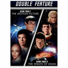 Star Trek/Star Trek II (DVD,  2-Disc Set) Double Feature I / II Wrath of Khan