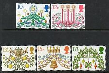 GB 1980 Christmas fine used set stamps