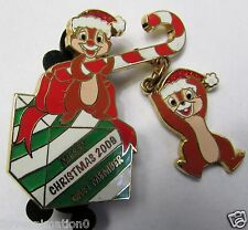 Disney Cast Member Merry Christmas Chip 'n' Dale Pin