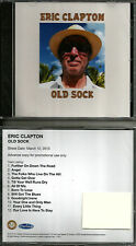 ERIC CLAPTON & PAUL McCARTNEY Old Sock ADVNC PROMO CD NEW Steve Winwood Beatles