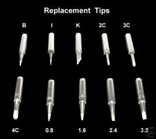 Solder Iron Replacement Tip Replacable Tips Soldering
