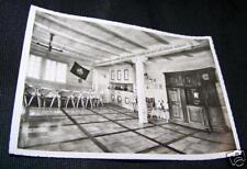 Vintag Real B & W Photo Postcard CHALET INTERNATIONAL