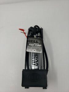 Bell Bicycle Air Pump Airblaster 100 Foot Pump 100 PSI Max Adapters 4 toys/balls