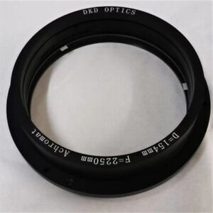Refraction astronomical telescope double objective lens Group 154mm DIY F2250mm