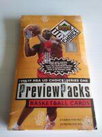 UPPER DECK 1998-99 NBA U D CHOICE SERIES 1 PREVIEW PACKS BRAND NEW