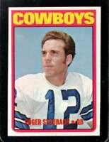 1972 TOPPS #200 ROGER STAUBACH VG+ (RC) COWBOYS HOF *XR28466