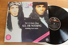 MILLI VANILLI All Or Nothing U.S.-Remix Album LP Hansa 209979 gatefold