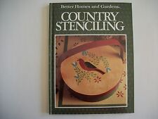 COUNTRY STENCILING  1989 by Better Homes and Gardens