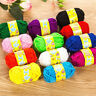 12pcs Yarn Wool Lot Knitting Crochet Granny Squares Craft Toys Bundle