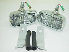 BACK UP LIGHT KIT LEFT SIDE & RIGHT SIDE FITS VOLKSWAGEN TYPE1 BUG TYPE3 GHIA