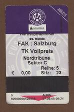 Orig.Ticket    Bundesliga  Österreich 05/06    AUSTRIA WIEN - RED BULL SALZBURG