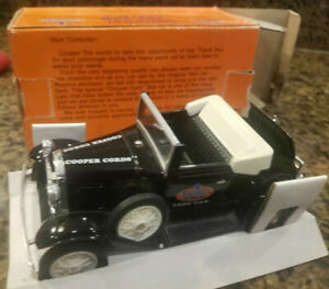 Limited Edition Cooper Tire Original Test Car Replica 1/25 Scale Die Cast Bank