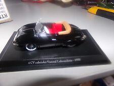 macchina in miniatura 1/43 ELIGO RENAULT 4 CV CABRIO VUTOTAL LABOURDETTE DI 1950
