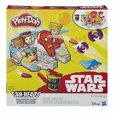 Play-Doh Star Wars Can Heads - Millennium Falcon Playset *BRAND NEW*