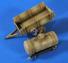 "Verlinden 1/35 Farmyard ""Honey Wagon"" Manure Cart with Slurry Tank WWII  2640"