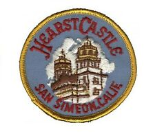 Hearst Castle Patch - Cambria, San Simeon, California Central Coast (Iron on)