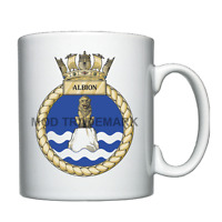 HMS Albion  -  Royal Navy - Personalised Mug