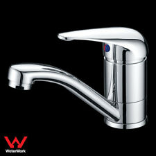 WELS Bathroom Vanity Basin Mixer Tap Faucet Swivel Spout Brass Chrome
