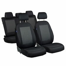 Schwarz-graue Dreiecke Sitzbezüge für FIAT PUNTO Autositzbezug Komplett