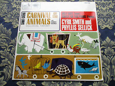 SAINT-SAENS CARNIVAL OF THE ANIMALS WITH CHAMBER ENSEMBLE 1965 STEREO HMV (MINT)