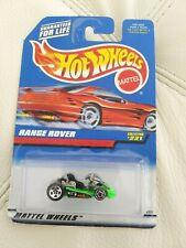 HOT WHEELS 1997 Green Go Kart In 1997 #221 Range Rover Packaging ERROR