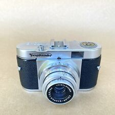 Voigtlander Vito B Vintage 35mm Film Camera W/ 50mm F/3.5 Color-Skopar Lens