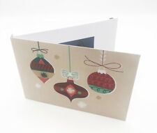 """Recordable Video Christmas Cards - 4"""" HD Screen - 256mb"""