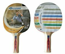 2 New Donic Schildkrot Table Tennis Bats Fully Rubbered