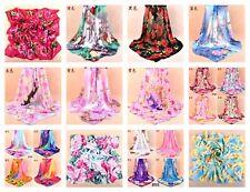 "Us Seller- 10 Scarf Accessories chiffon shawls animal print 37.4"" large square"