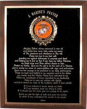 US MARINE PRAYER PLAQUE - NICE UNITED STATES / USMC PATRIOTIC GIFT OR AWARD