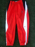 Nike NikeLab TN Tuned Track Pants Mens Sz Medium Orange Black White AR5858-891
