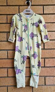 Baby Bonds Grape Friends Zippy Wondersuit Size 0 or 6-12 Months Rare!