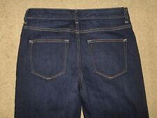 "GAP 1969 Size 30 T Mid Rise Flare Dark Stretch Denim Womens Jeans 37.5"" Inseam"
