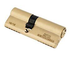 SMITH  & LOCKE 1*  6-PIN EURO CYLINDER DOOR LOCK 35-45 (80MM) BRASS - NEW