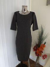F&F BLACK GREY SILHOUETTE STYLE BODYCON DRESS SIZE 18 LADIES BNWT