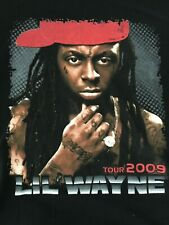 Lil Wayne 2009  I AM MUSIC Tour T-Pain Gym Class Heroes & Keri Hilson Sz M