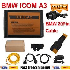 BMW ICOM A3 V1.38 Programmer Diagnostic Tool With BMW 20Pin Cable For Vehicles