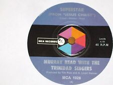 "MURRAY HEAD *RARE 7"" 45 ' SUPERSTAR ' 1969 VGC+"