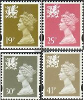 GB-Wales 64-67 (kompl.Ausg.) postfrisch 1993 Wales