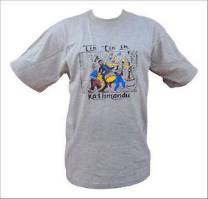 Tin Tin in Kathmandu Cotton T-shirt