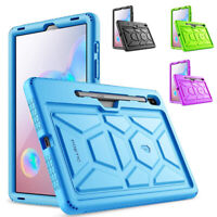 Samsung Galaxy Tab S6 Tablet Case [Shockproof] w/Drop Protection Silicone Cover