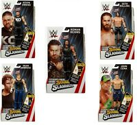 TALKING WWE SOUND SLAMMERS SERIES 1 ACTION FIGURE 20+ SOUNDS - CHOICE OF 5