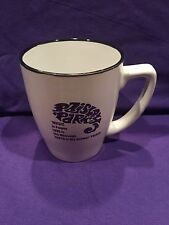 PRINCE Paisley Park Coffee MUG Cup LOGO LOVE Symbol MUSIC Quote Purple Rain