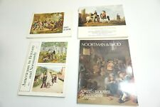 LOT OF 4 MIXED ART MUSEUM EXHIBITION SOFTBACK BOOKS N3