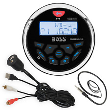 Boss MGR350B Bluetooth USB Receiver, Marine Antenna, Auxiliary Interface Mount