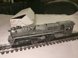 Lionel Post War O # 681 Diecast Shell/Frame For Parts And Restore Nice Shape